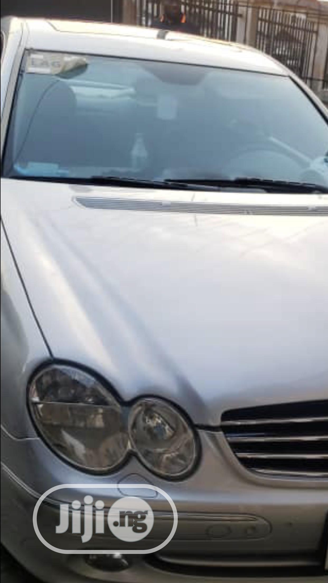 Archive: Mercedes-Benz CLK 2005 55 AMG Silver