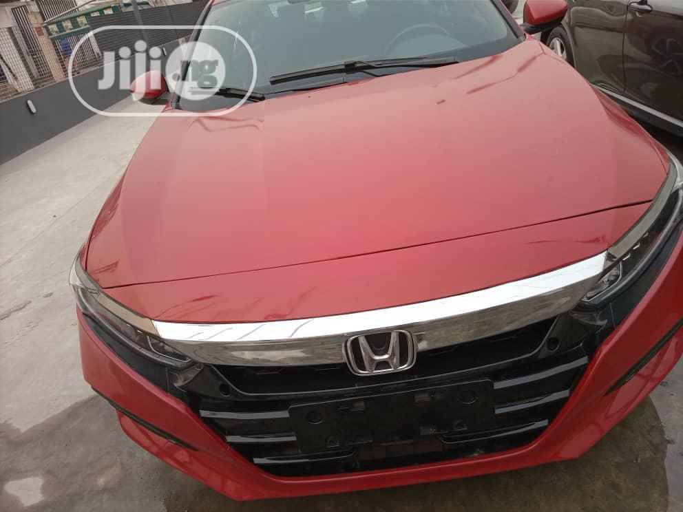 Honda Accord 2018 Sport Red