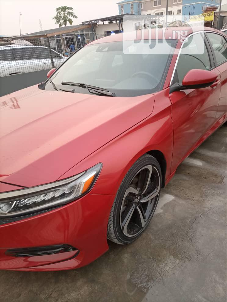 Honda Accord 2018 Sport Red | Cars for sale in Ajah, Lagos State, Nigeria