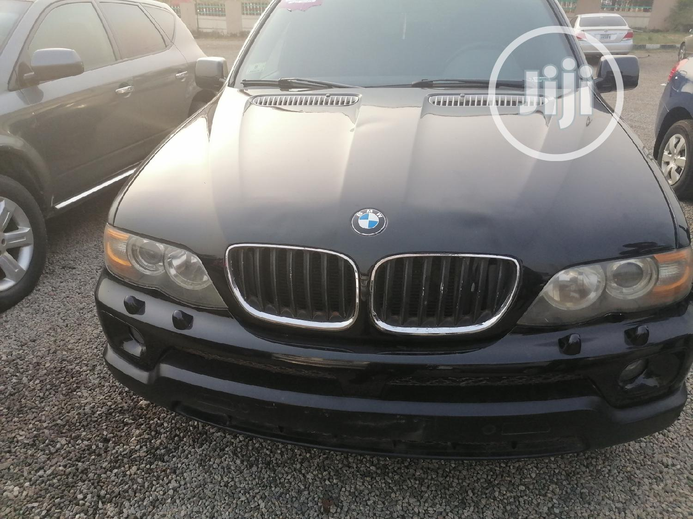 Archive: BMW X5 2006 3.0i Sports Activity Black