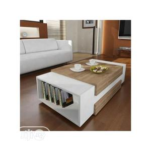Center Table Coffee Table Chair With Book Shelf Furniture | Furniture for sale in Lagos State, Surulere