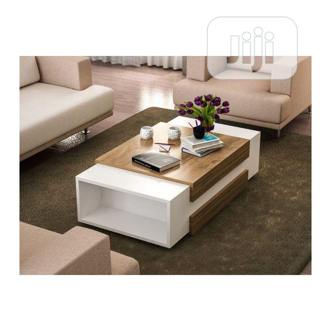 Center Table Coffee Table Chair With Book Shelf Furniture | Furniture for sale in Surulere, Lagos State, Nigeria