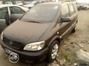 Opel Zafira 2003 Black   Cars for sale in Lagos State, Amuwo-Odofin
