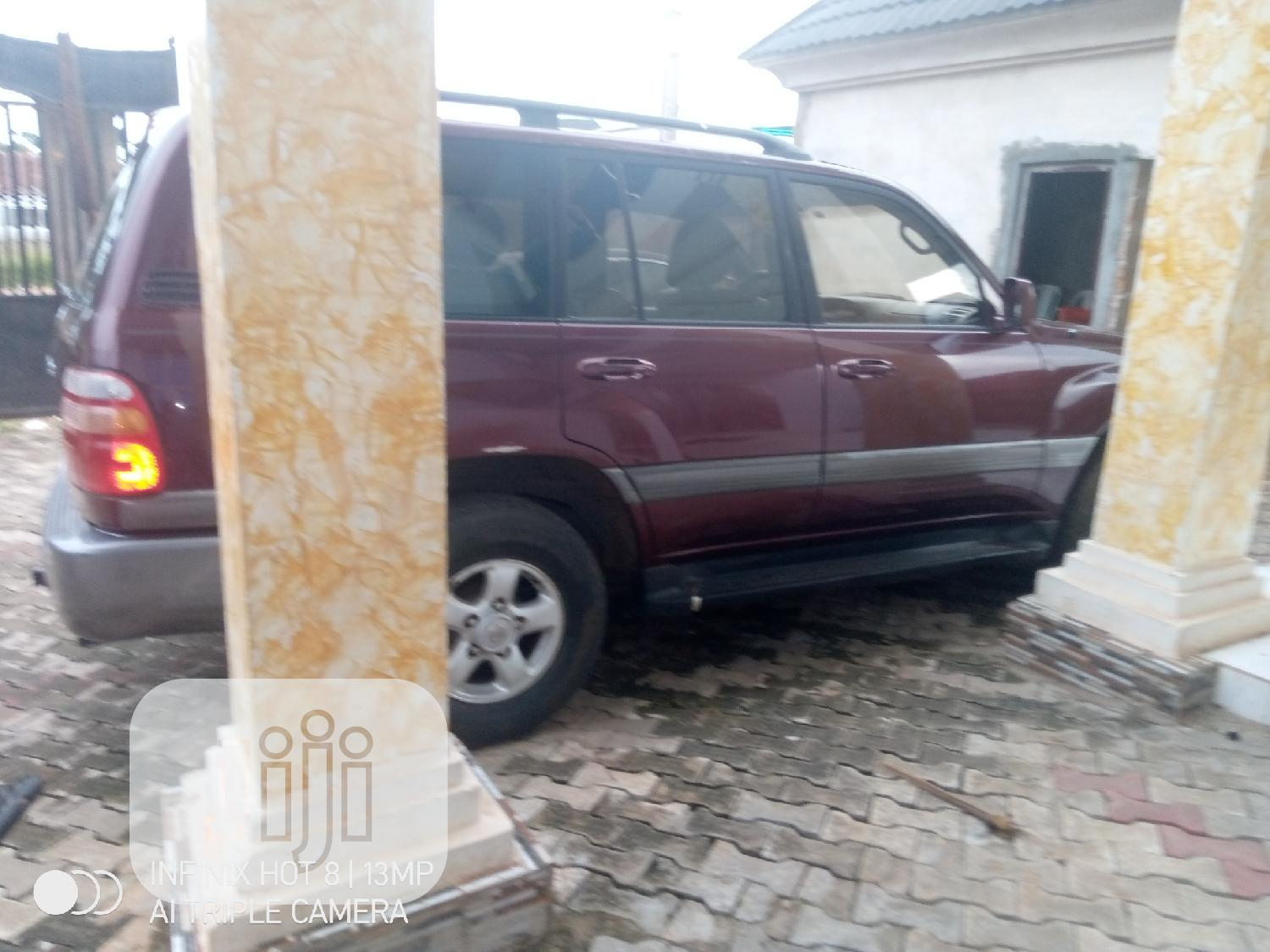 Toyota Land Cruiser 2004 Red | Cars for sale in Benin City, Edo State, Nigeria