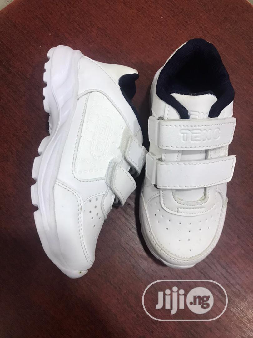 White School Sneakers
