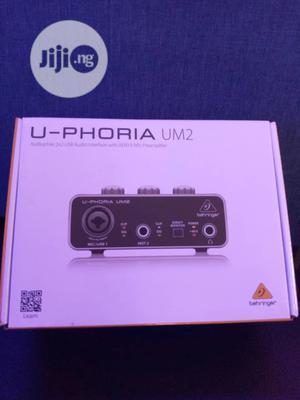 U Phoria Um2 Sound Card   Audio & Music Equipment for sale in Lagos State, Ojo