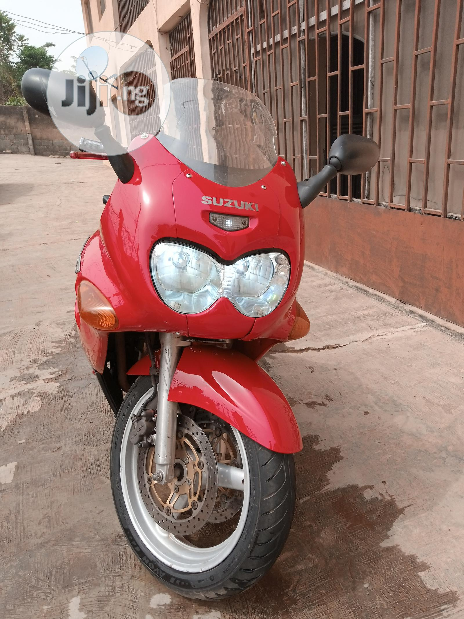 Suzuki GSXF 2000 Red | Motorcycles & Scooters for sale in Ibadan, Oyo State, Nigeria