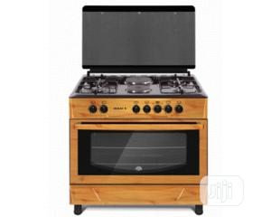MAXI Gas Cooker 60*90 (4 + 2 ) WOOD | Kitchen Appliances for sale in Oyo State, Ibadan