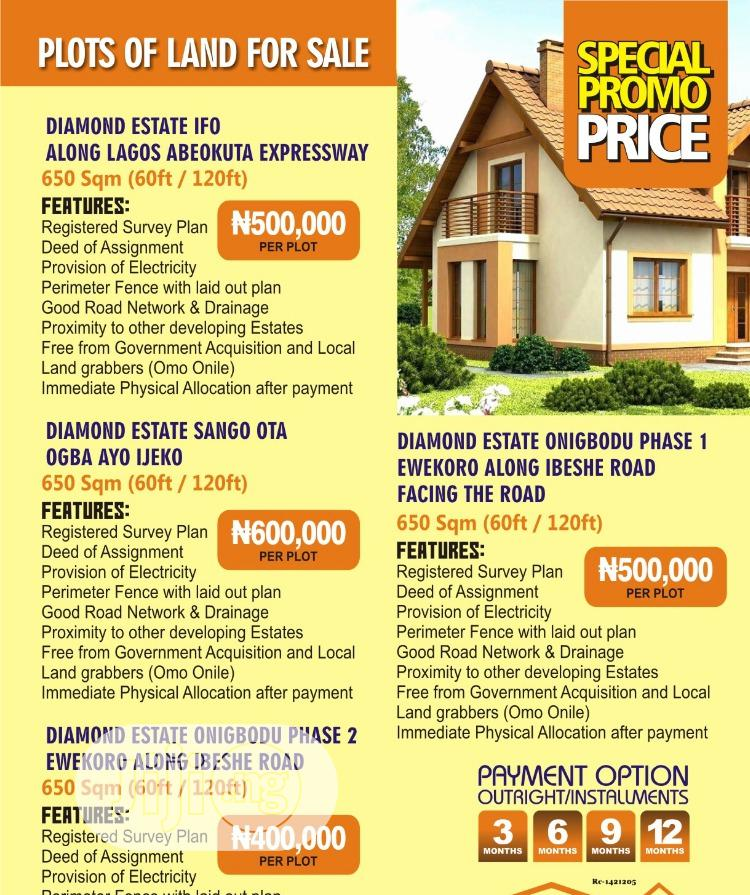 Promo Plots of Land for Sale at Ogun State