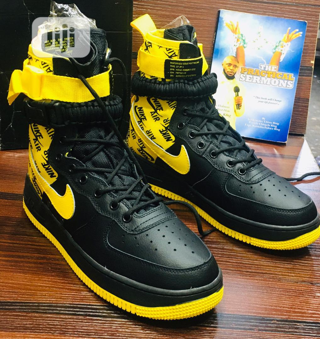 (New In) Nike Air Force 1 High Top Combat Boot | Shoes for sale in Lagos Island (Eko), Lagos State, Nigeria