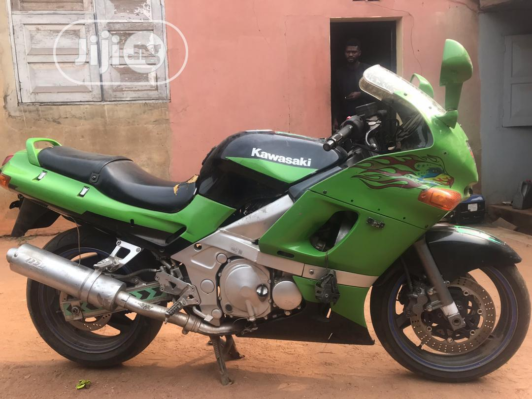 Kawasaki Z400 1998 Green | Motorcycles & Scooters for sale in Ibadan, Oyo State, Nigeria