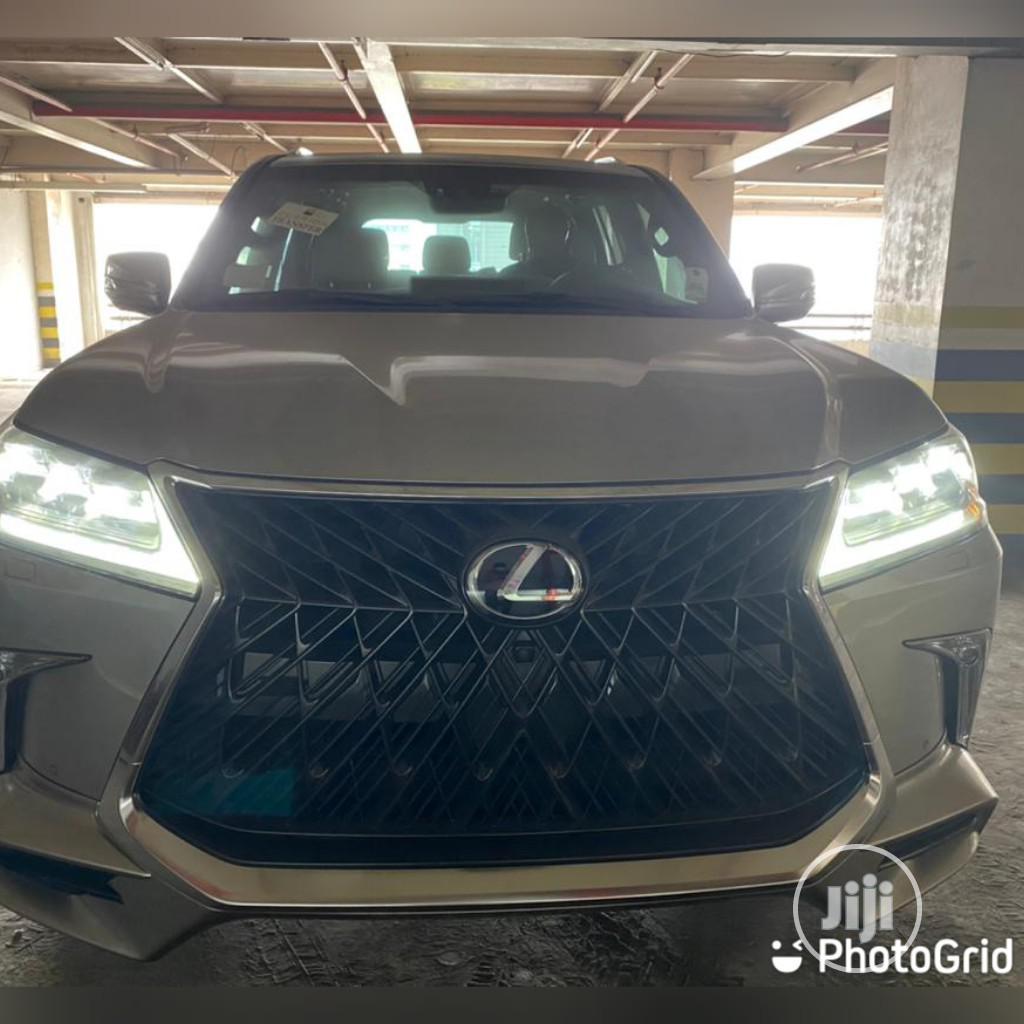 Lexus LX 2020 570 Three-Row Silver