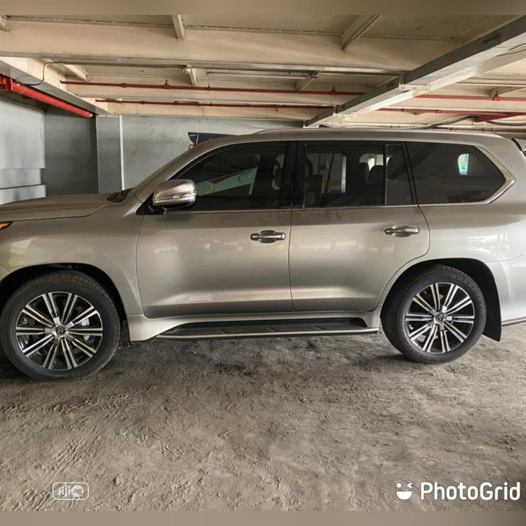 Lexus LX 2020 570 Three-Row Silver | Cars for sale in Victoria Island, Lagos State, Nigeria