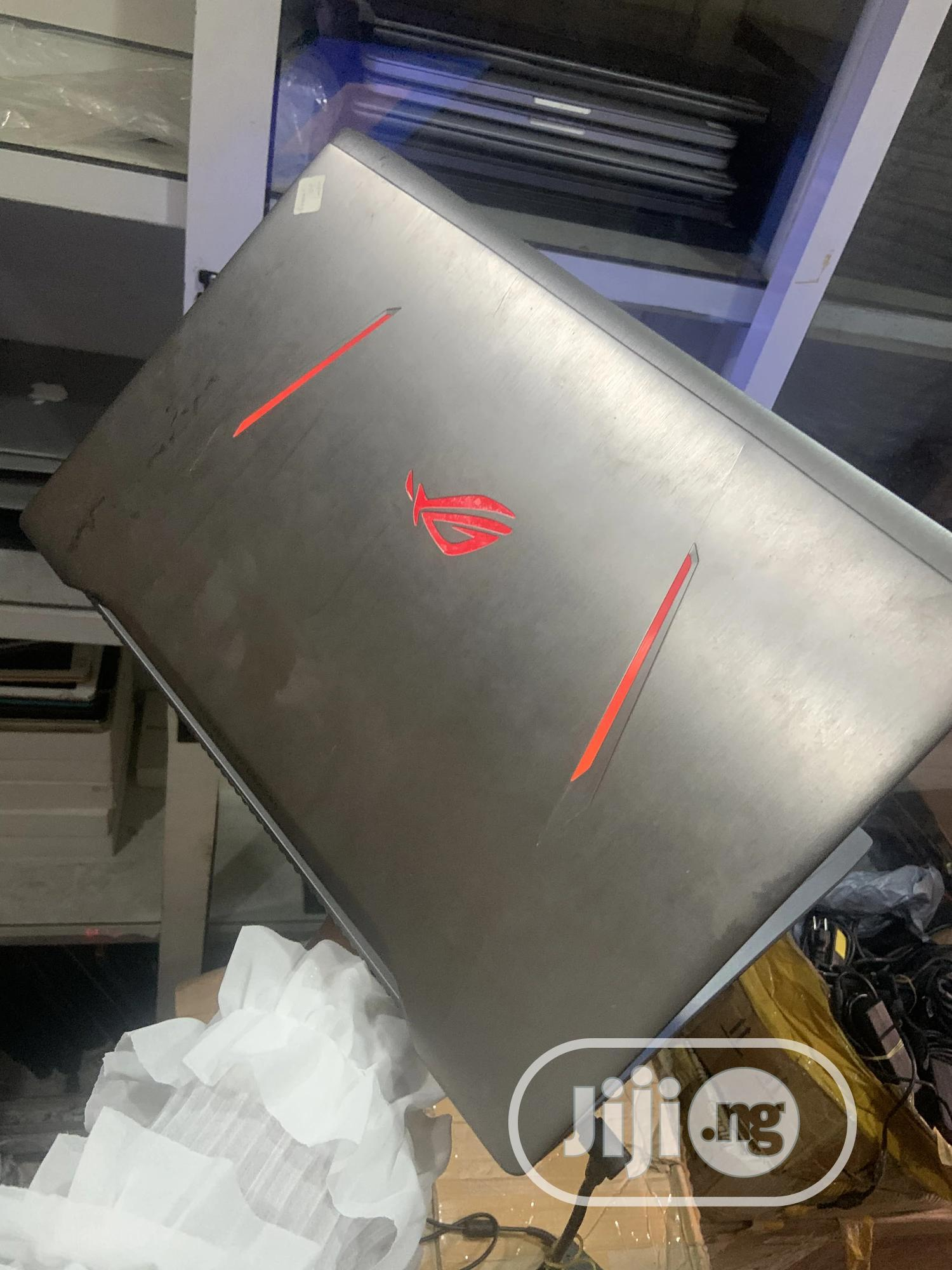 Laptop Asus ROG GL702VS 12GB Intel Core I7 HDD 1T   Laptops & Computers for sale in Ikeja, Lagos State, Nigeria