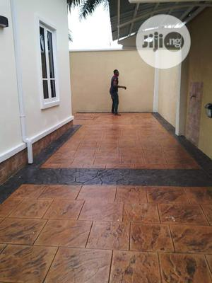 Stamped Concrete Floor   Building Materials for sale in Lagos State, Ajah