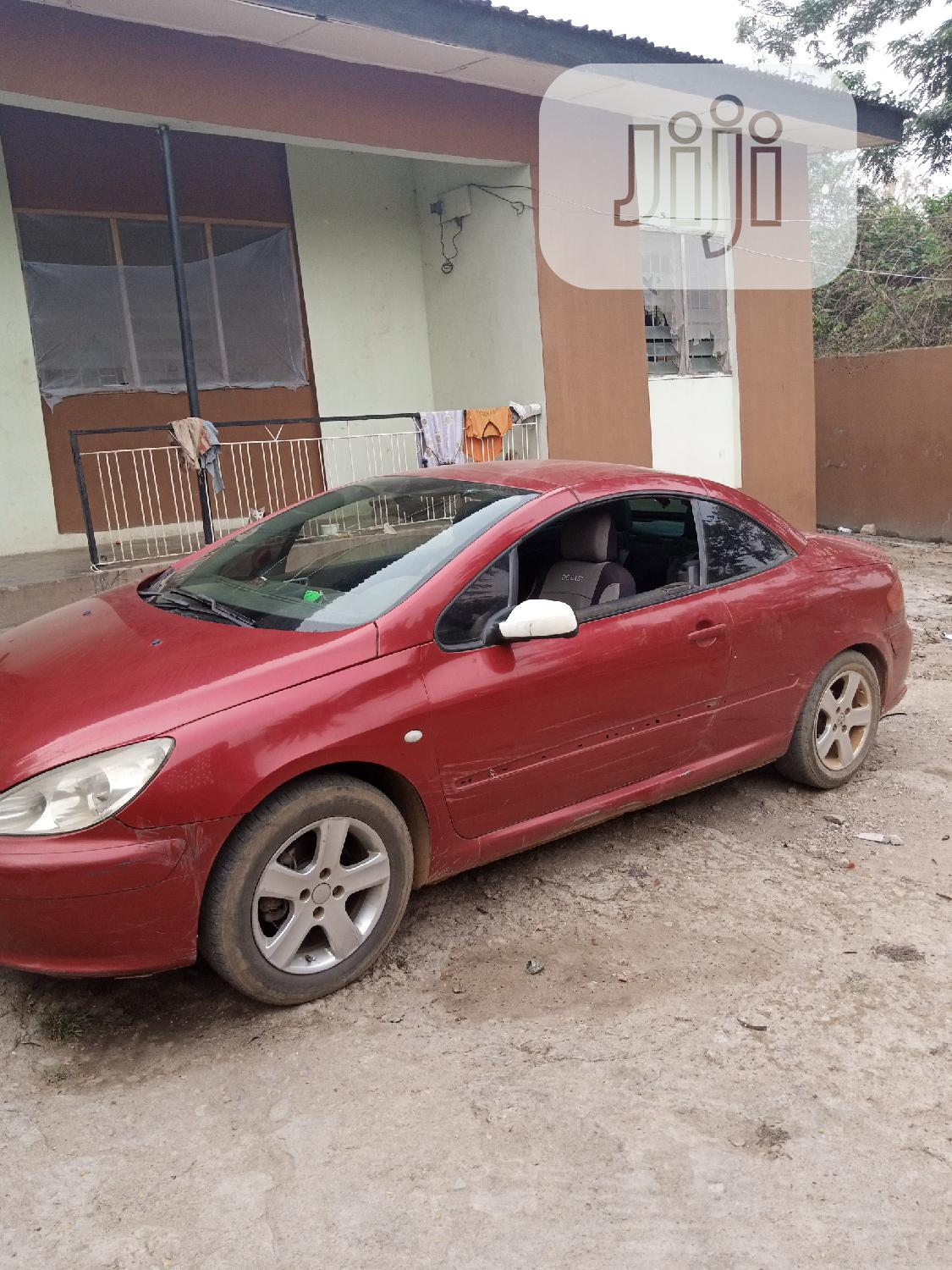 Peugeot 307 2005 1.4 Red | Cars for sale in Obokun, Osun State, Nigeria