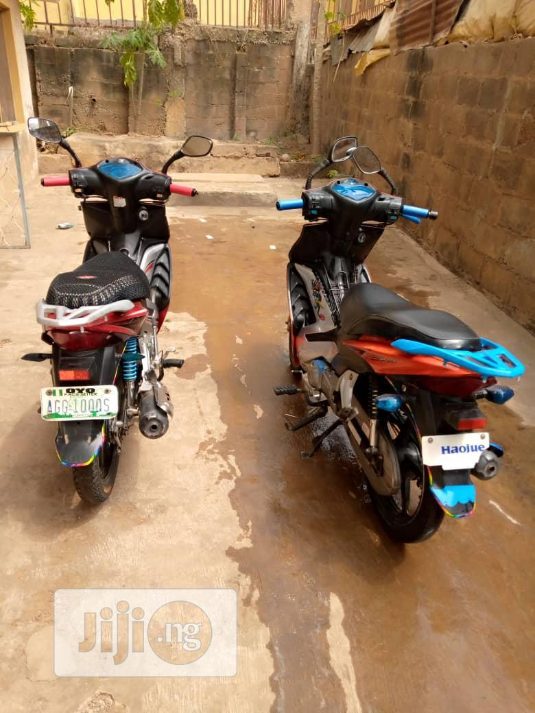 Haojue HJ100T-7C 2018 Orange | Motorcycles & Scooters for sale in Oluyole, Oyo State, Nigeria
