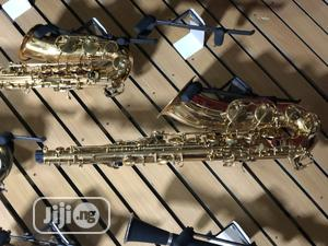 Alto Saxophone With Accessories Available in Gold and Silver | Musical Instruments & Gear for sale in Lagos State, Ojo