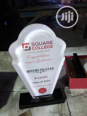 White Acrylic Award | Arts & Crafts for sale in Lagos State, Mushin
