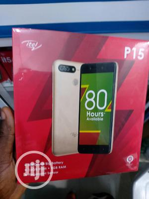 New Itel P15 16 GB Gold | Mobile Phones for sale in Lagos State, Ikeja