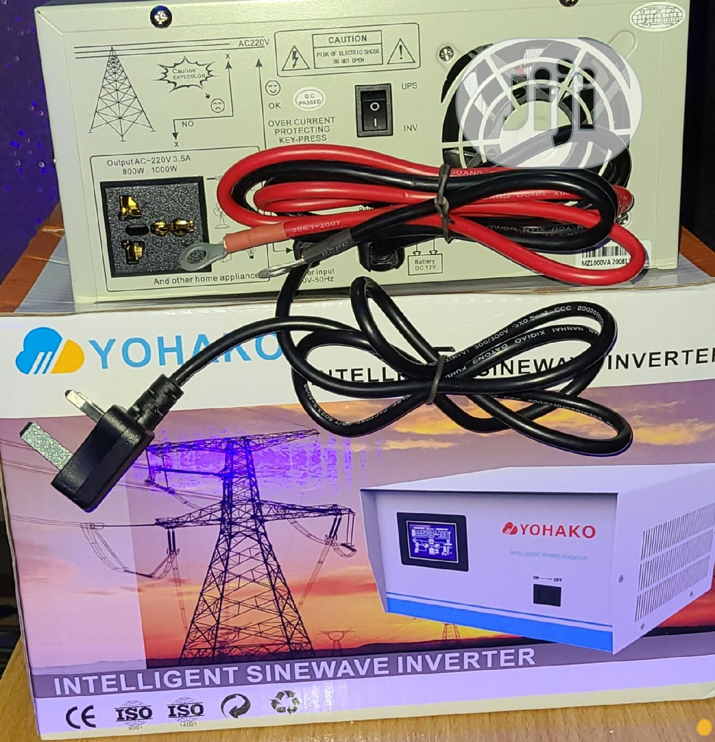 1kva Pure Sinewave Inverter | Solar Energy for sale in Alimosho, Lagos State, Nigeria