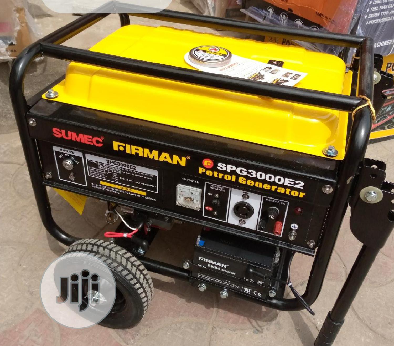 Archive: Sumec Firman 2.5kva Generator SPG-3000E2 Key Pure Copper