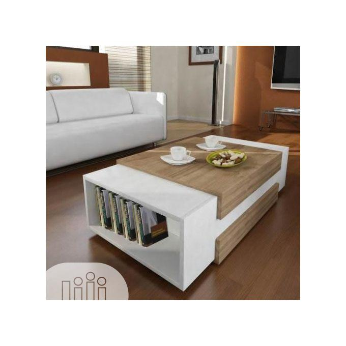 Multipurpose Coffee Table With Book Shelf Center Table   Furniture for sale in Ajah, Lagos State, Nigeria