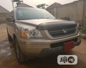Honda Pilot 2005 EX-L 4x4 (3.5L 6cyl 5A) Gold | Cars for sale in Osun State, Ife