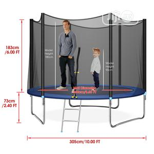 Outdoor Trampolines With Ladder for Playground | Toys for sale in Lagos State, Ikeja