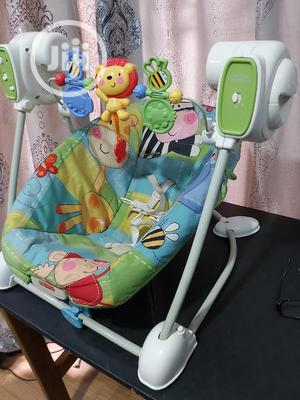 Fisher Price Spacesaver Swing Seat | Children's Gear & Safety for sale in Edo State, Benin City