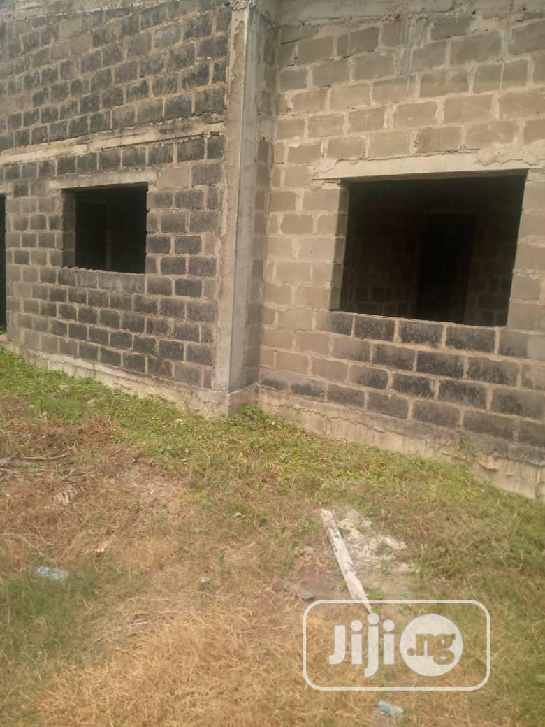 3 Bedroom Carcass With a Self Contained Bq   Houses & Apartments For Sale for sale in Sangotedo, Ajah, Nigeria