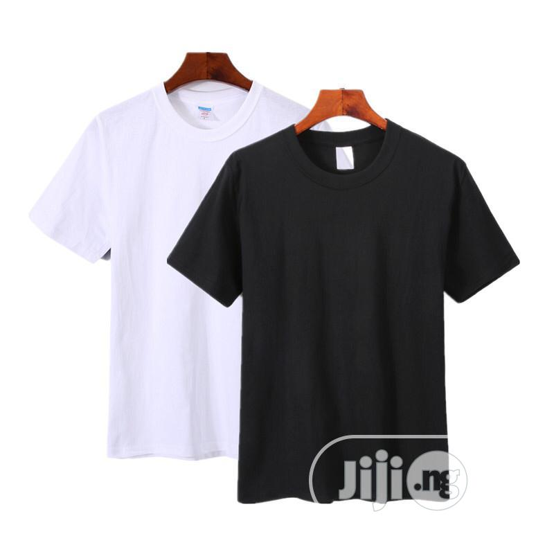 Quality Two in One Polo T-Shirt White and Black | Clothing for sale in Ikotun/Igando, Lagos State, Nigeria