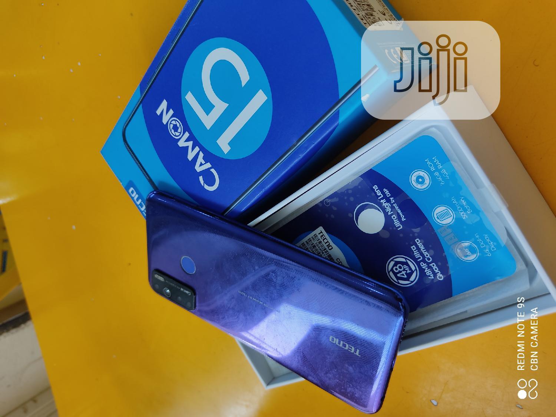 Tecno Camon 15 64 GB Blue