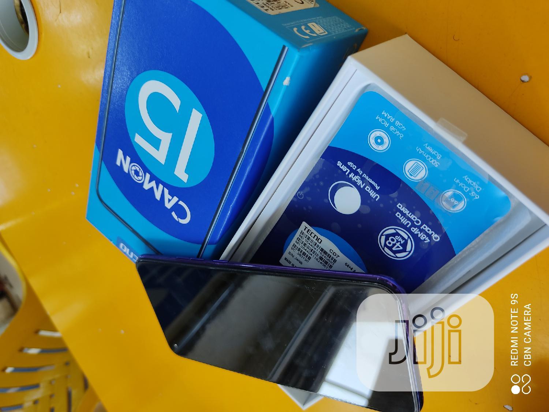 Tecno Camon 15 64 GB Blue   Mobile Phones for sale in Jos, Plateau State, Nigeria