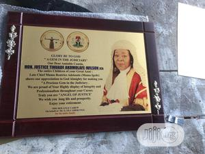 Rectangular Wooden Plaque | Arts & Crafts for sale in Lagos State, Mushin