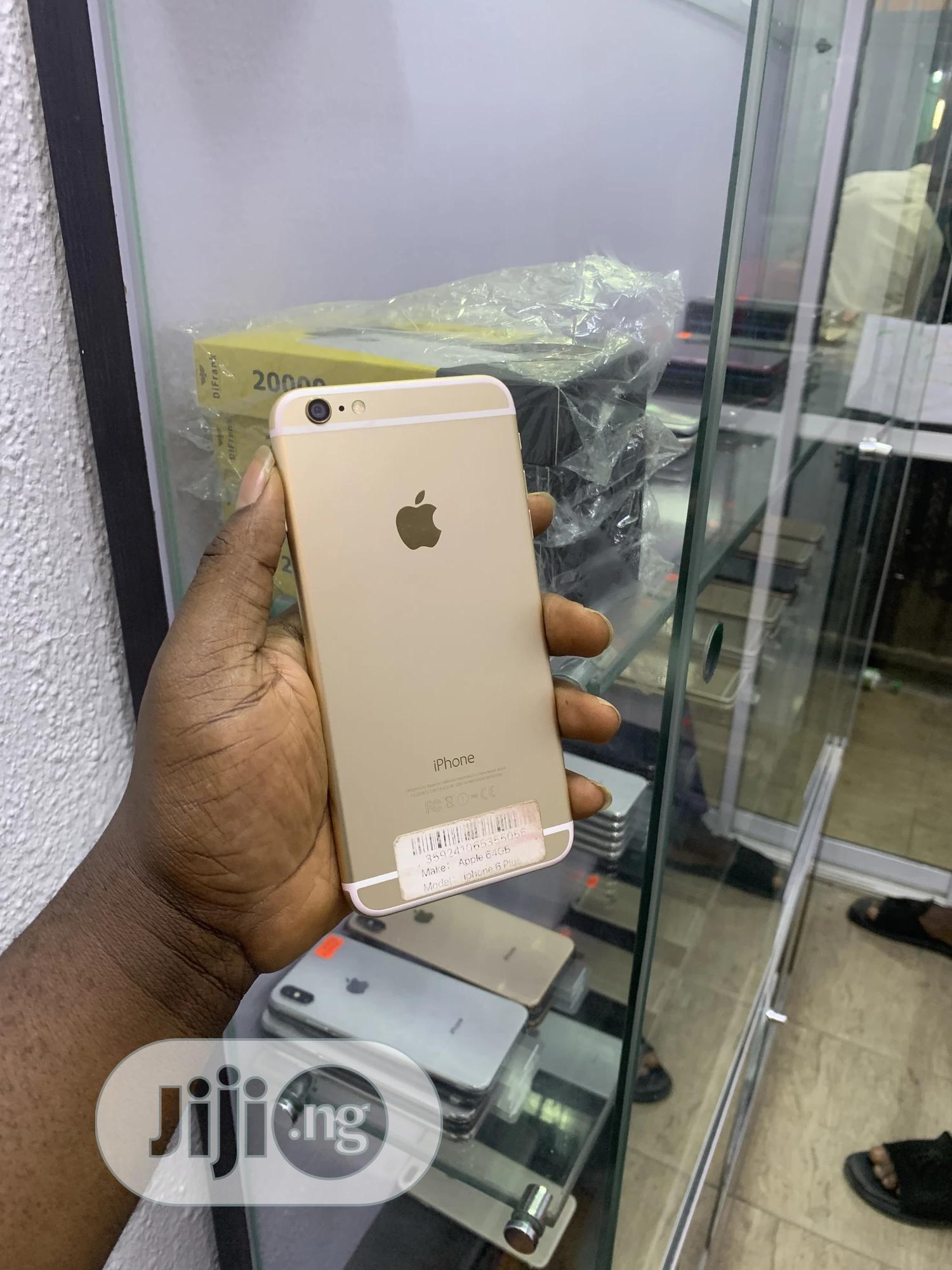 Apple iPhone 6 Plus 64 GB Gold   Mobile Phones for sale in Ikeja, Lagos State, Nigeria