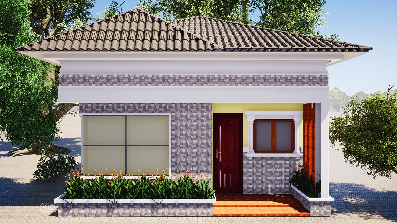 3 Bedrooms Bungalow Building Plan