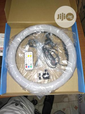 13inches Ring Light High Quality Multiple Colours With Remot   Accessories & Supplies for Electronics for sale in Lagos State, Lagos Island (Eko)