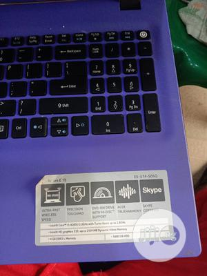 Laptop Acer Aspire E15 8GB Intel Core I5 500GB | Laptops & Computers for sale in Oyo State, Ibadan
