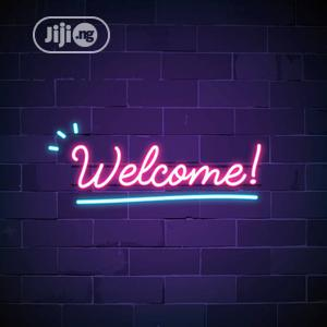 Welcome Symbol With Neon Signage | Manufacturing Services for sale in Rivers State, Port-Harcourt