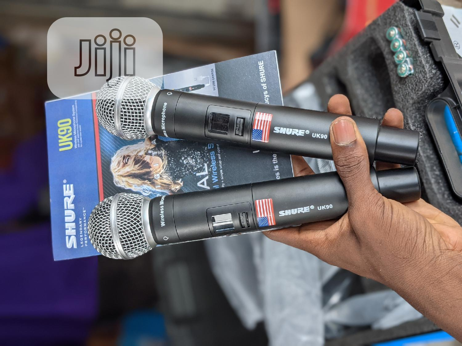 USA Shure Wireless Mic With Long Range,Digital Mics and Case | Audio & Music Equipment for sale in Ojodu, Lagos State, Nigeria