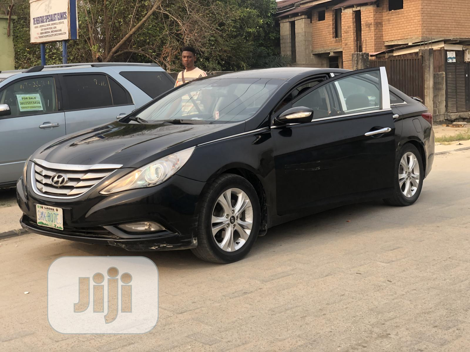 Hyundai Sonata 2012 Black | Cars for sale in Lekki, Lagos State, Nigeria