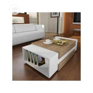 Multipurpose Center Table Coffee Table Chair With Book Shelf | Furniture for sale in Lagos State, Ikeja