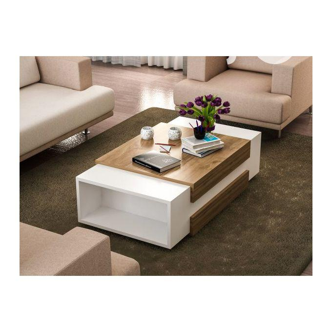Multipurpose Center Table Coffee Table Chair With Book Shelf   Furniture for sale in Ikeja, Lagos State, Nigeria