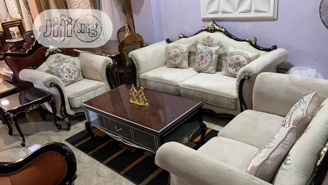 7seater Fabric Sofa Chair Imported From Turkey