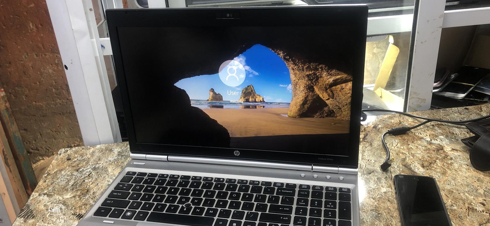 Laptop HP EliteBook 8560P 4GB Intel Core I5 320GB   Laptops & Computers for sale in Ikeja, Lagos State, Nigeria