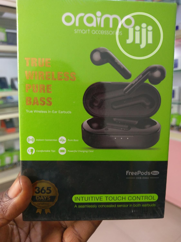 Oraimo True Wirelss Pure Bass