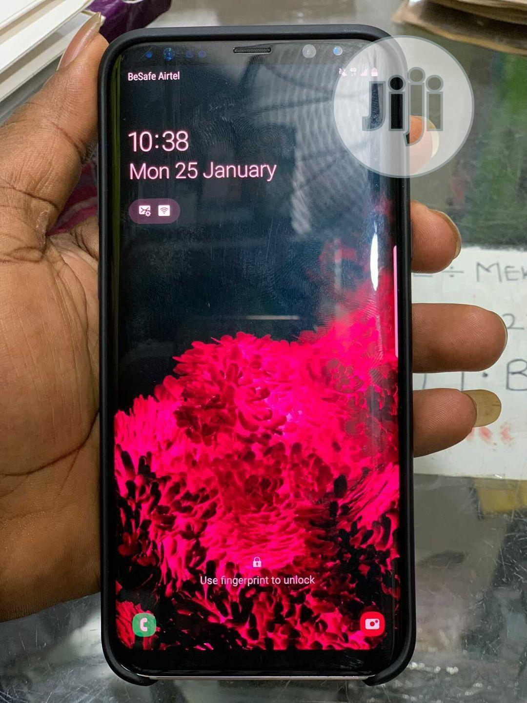 Samsung Galaxy S8 Plus 64 GB Gold   Mobile Phones for sale in Obio-Akpor, Rivers State, Nigeria