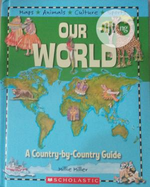 Children Atlas of Map, Animals, Culture and Sports   Books & Games for sale in Lagos State, Surulere