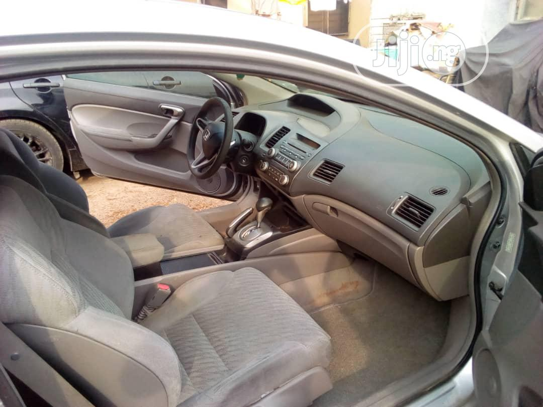 Honda Civic 2009 Coupe LX Gray | Cars for sale in Yaba, Lagos State, Nigeria